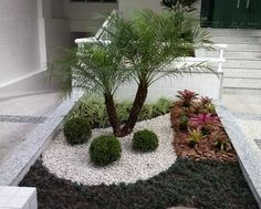 best white gravel landscaping ideas & designs for 32 ~ mantulgan.me best white gravel landscaping ide. Gravel Landscaping, Gravel Garden, Landscaping With Rocks, Front Yard Landscaping, Landscaping Ideas, Small Gardens, Outdoor Gardens, Garden Landscape Design, Desert Landscape