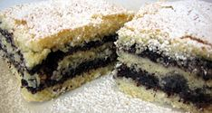 Mákos sütemény Poppy Seed Cookies, Poppy Cake, Hungarian Recipes, Quick Bread, Something Sweet, Cheesecake, Dessert Recipes, Food And Drink, Yummy Food