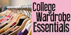 Style Major: College Wardrobe Essentials: Much Needed!