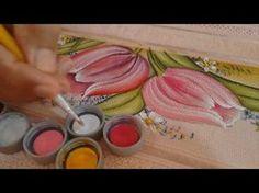 Roberto Ferreira - Pintura Hibisco Virado