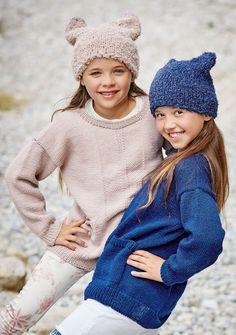 Lana Grossa PULLOVER Cool Wool Big - FILATI Kids No. 8 - Modell 35 | FILATI.cc WebShop