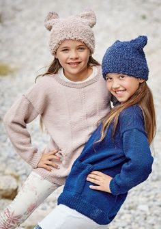 Lana Grossa PULLOVER Cool Wool Big - FILATI Kids No. 8 - Modell 35 | FILATI.cc WebShop
