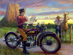 "David Uhl will be presenting his Sturgis Commemorative Collection of fine art prints, including ""70 & Counting"" – his newest piece commemorating the 70th Sturgis rally. Description from bikeweeknews.blogspot.com. I searched for this on bing.com/images"