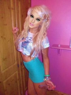 Shemale Colombian Barbie