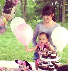 Taylor's 1st birthday! Minnie themed :)