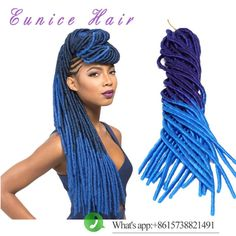 hair extensions real hair on sale at reasonable prices, buy Two tone FauxLocs ombre color crochet braids UK,US Hair Extension locs crochet braid hair synthetic Braiding hair from mobile site on Aliexpress Now! Crochet Braids Hairstyles, Dreadlock Hairstyles, Braided Hairstyles, Blond, Cheap Hair Extensions, Crochets Braids, Hot Hair Styles, Ombre Color, Faux Locs
