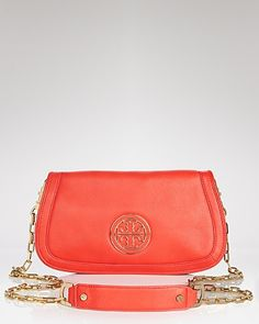 Tory Burch Clutch - Amanda Logo | Bloomingdales