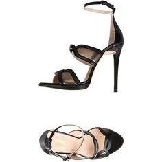 8 Sandals (530 RON) via Polyvore featuring shoes, sandals, black, animal print shoes, ankle strap shoes, ankle strap sandals, black buckle sandals and black ankle wrap sandals