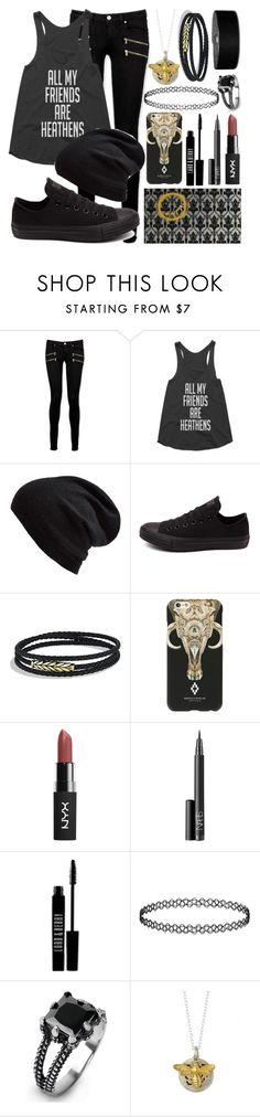 """Ask you who you know"" by lorraine246 ❤ liked on Polyvore featuring Paige Denim, Echo, Converse, David Yurman, Marcelo Burlon, NARS Cosmetics, Lord & Berry, Topshop and West Coast Jewelry"