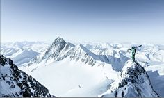 Credit: Tim Lloyd Tim Lloyd: Mathieu Imbert scoping the next line from a ridge on a heli day Ski And Snowboard, Snowboarding, Skiing, Mountain Photography, French Alps, Photography Competitions, Photo Competition, A Team, Adventure