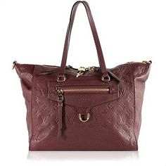 Louis Vuitton Monogram Empreinte Lumineuse PM Tote | Louis Vuitton Handbags - Bag Borrow or Steal