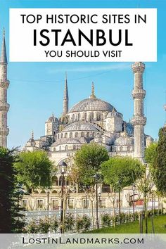 Things to do in Istanbul Turkey if you love historical sites! From mosques to medieval towers and markets there's so many places to add to your Istanbul city itinerary Europe Travel Tips, European Travel, Asia Travel, Travel Plan, Vietnam Travel, Budget Travel, Travel Guides, Istanbul City, Istanbul Turkey