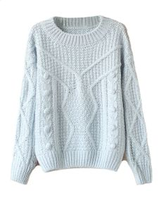 Candy Color Twist Knit Pullover
