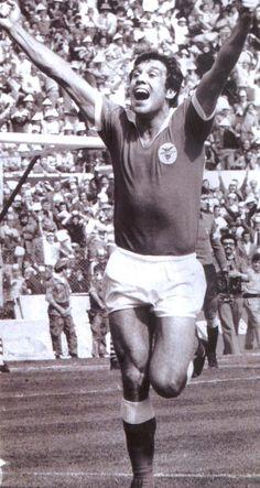 Humberto Coelho, antigo defesa central e capitão do Benfica.