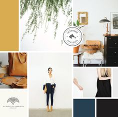 RowanMade Design Studio Moodboard | Curated by Breanna Rose