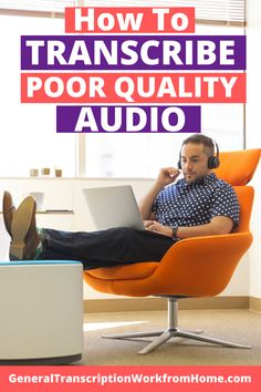 How do you transcribe bad quality audio? How can you make it easier to transcribe poor quality audio? How to indicate inaudibles in transcripts? Transcription Jobs From Home, Transcription Jobs For Beginners, Work From Home Jobs, Make Money From Home, How To Make Money, Online Surveys For Money, Make Money Online, Online Income, Typing Jobs