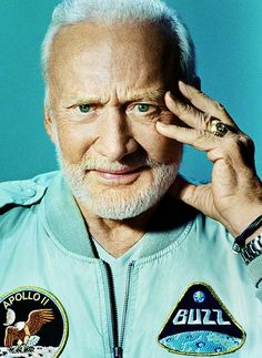 Buzz Aldrin - second man to walk on the Moon.