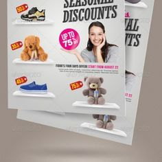 Here's the third volume of product promotion purpose flyer that available in two layout formats, portrait and landscape.  Technical specs:- print size: 8.5×11 inches.- bleed area: 0.25 inches.- resolution: 300 dpi.- color: CMYK.- available file format: Photoshop .psd files. Please note that sample photos used on the preview image above are not included in the downloaded purchased files. They are used for demo purpose only.    Photoshop PSD  Finishing & Printed Lots Pricing Upon Request