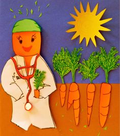 Image: Cover art for Curing Cancer With Carrots.