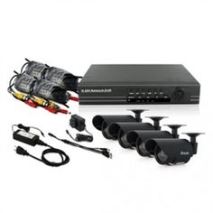Zmodo Surveillance PKD-DK0856-500GB DVR 8 Channel 4 Infrared Camera System With 500GB Brown Box by Zmodo. $255.85. With network access, VGA video output, and USB2.0 backup, this DVR is perfect for the home or small business.