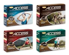 Access  your stored  body fat. Turn fat into fuel to kick start your workout.  Increase endurance with less fatigue soreness. With great tasting  Access bars or shakes!!