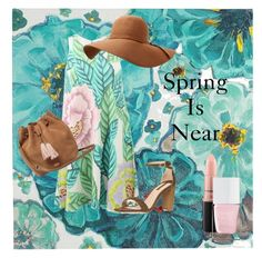 Spring Is Near by s2inaubsworlds2 on Polyvore featuring polyvore, Mara Hoffman, Dorothy Perkins, UGG, MAC Cosmetics, The Hand & Foot Spa, Pier 1 Imports, fashion, style and clothing