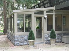 sunrooms | ... Macomb County Sunrooms, Enclosures, Florida Rooms and Conservatories | Idea for enclosing patio at cabin.