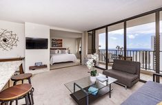 Spacious one bedroom condo. Ocean View throughout Looks to be available for our dates