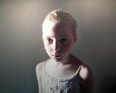 Gottfried Helnwein    Oil & acrylic on canvas
