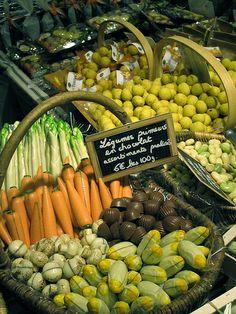 Open Market - Paris, France. Salon du Chocolat 2010, Paris, France