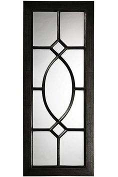 Howard Elliott Dayton Charcoal Gray Mirror x x - Window Grill Design Modern, Grill Door Design, Window Design, Gate Design, Door Grill, Round Wall Mirror, Black Mirror, Wall Mirrors, Mirror Bedroom