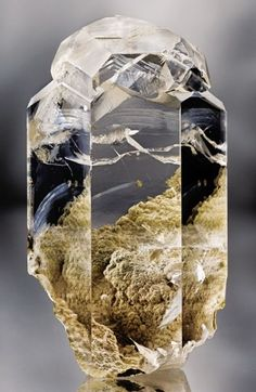 """ Water-clear Calcite from Russia """