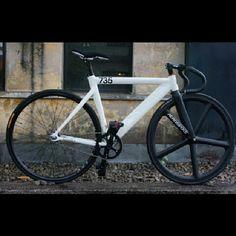 #735 #leader735TR #leaderbike #fixedgear #fixie #aerospoke #nice