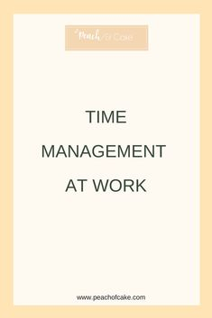 Organizational culture and leadership the jossey bass business the importance of time management at work fandeluxe Images