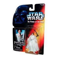 Amazon.com: Star Wars Power of the Force Red Card Princess Leia Action Figure: Toys & Games