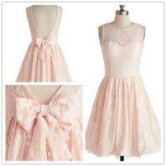 Short Pink Lace Bridesmaid Dress/Custom One-shoulder Wedding Party Dress/Peach Blush Mint Green Bridesmaid Dress/Prom Dress/Formal Dress