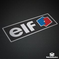Pegatina Elf #elf #pegatina #adhesivo #tuning #moto #TeleAdhesivo