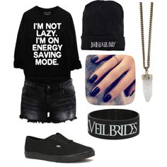 Untitled #7 by art-of-depression on Polyvore featuring polyvore fashion style VILA Vans Givenchy Lottie Boohoo