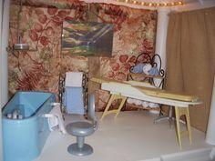 Barbie Spa Plastic Shelving Units, Barbie Store, Spa, Furniture, Home Decor, Decoration Home, Plastic Shelves, Room Decor, Home Furnishings