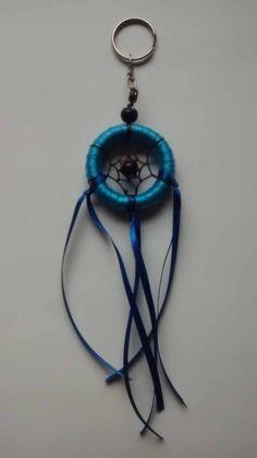 Chaveiro Filtro dos Sonhos Azul