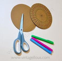 Vintagellous: DIY ESPEJO DE SOL VINTAGE Diy Canvas Frame, Diy Frame, Diy Crafts Hacks, Diy Projects, Starburst Mirror, Diy Mirror, Diy Wall Art, Resin Crafts, Decoration