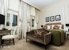 Executive bedroom at London hotel Hotel Xenia