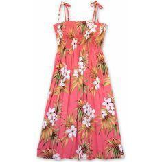 7976b7b84d Island Blush Moonkiss Hawaiian Dress (58 NZD) ❤ liked on Polyvore featuring  dresses