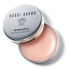 Bobbi Brown Lip Balm with SPF 15 – for weatherworn lips that need some. See more: http://www.vogue.in/content/10-lip-balms-to-get-in-2015