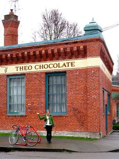 Theo Chocolate Factory (Seattle Washington) -- book a tour online!