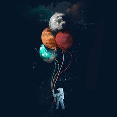 astronauta amor tumblr - Buscar con Google