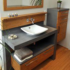 Découvrez le modèle de meuble de salle de bain Vénus, conçu et réalisé par…