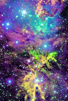No idea what nebula this is, but the colors, were they visible to the human eye, would be a beacon I could hardly resist.
