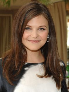 Layered Hairstyles (Ginnifer Goodwin) - Another take of my goal cut/length.  Plus I think she looks cute with any length hair (although I like her color on Once Upon a Time better). {armpit length}