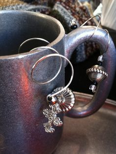 Wine glass charms by LilyHillHandmade on Etsy, $3.00